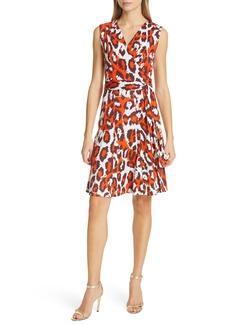 Diane Von Furstenberg DVF Jasmine Silk Wrap Dress