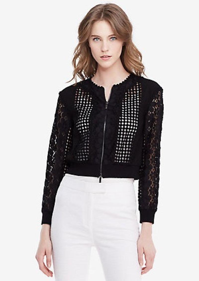 Diane Von Furstenberg DVF Jesica Lace Jacket