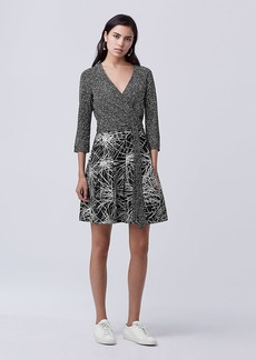 DVF Jewel Wrap Dress