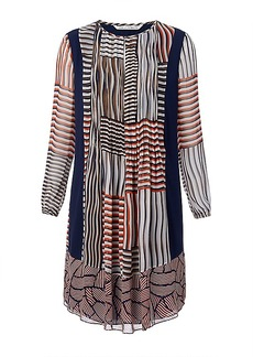 DVF Kailyn Chiffon Tunic Dress