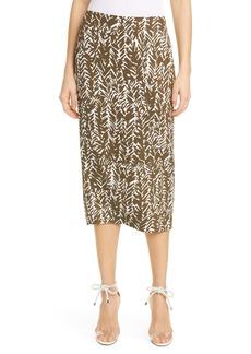 Diane Von Furstenberg DVF Kara Pencil Skirt