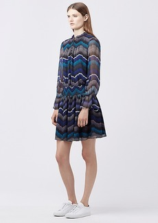 DVF KELLEY CHIFFON DRESS