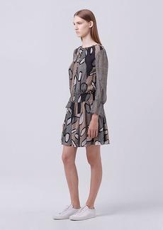 DVF Kelley Chiffon Dress