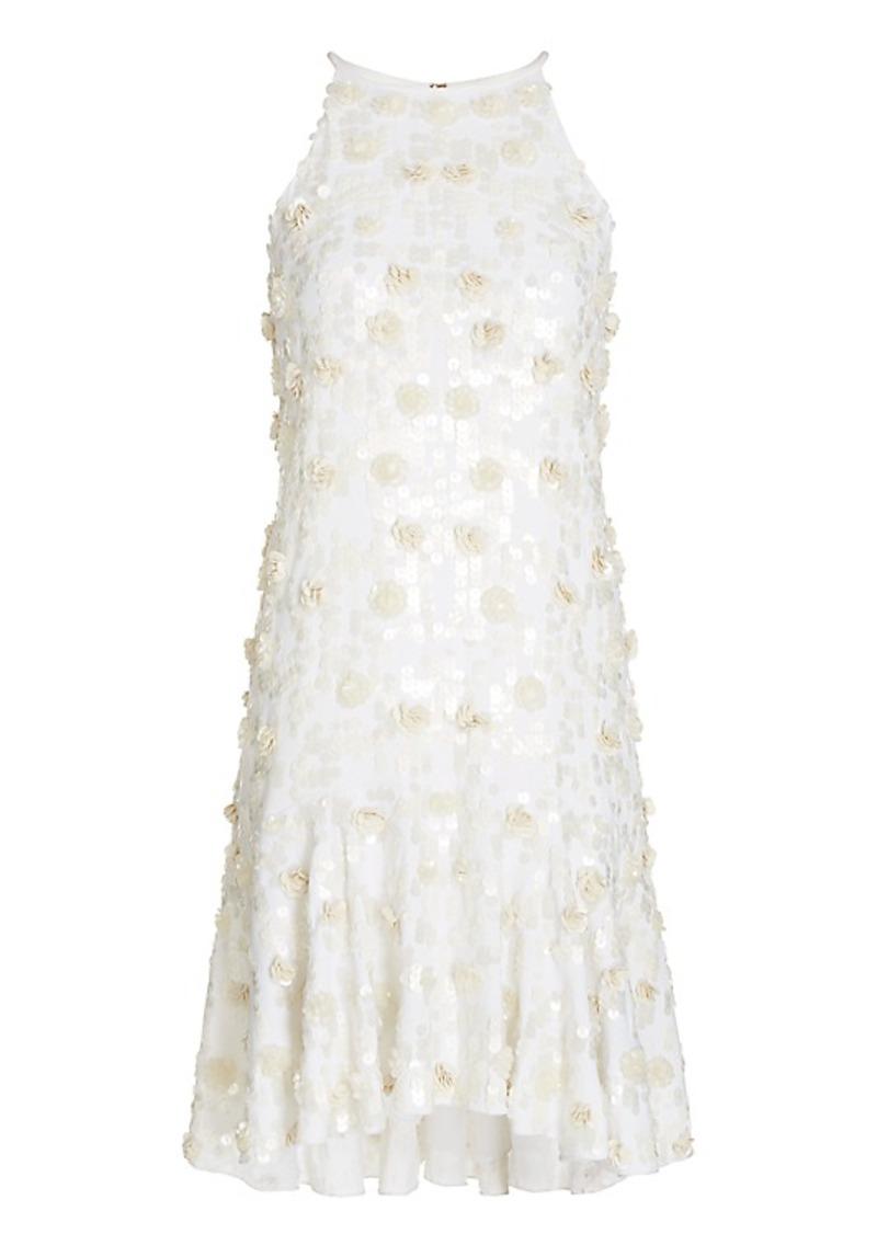 f47d5fe09d6 Diane Von Furstenberg DVF Kera Sequin Embellished Dress