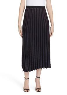 Diane Von Furstenberg DVF Klara Pleat Midi Skirt