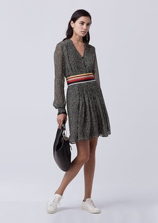 DVF Kourtni Chiffon Tunic Dress