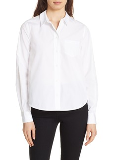 Diane Von Furstenberg DVF Lace Back Shirt