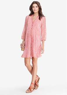 DVF Layla Chiffon Tunic Dress