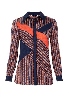 DVF Liara Printed Blouse