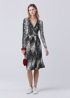 DVF Lilyann Silk Jersey Wrap Dress