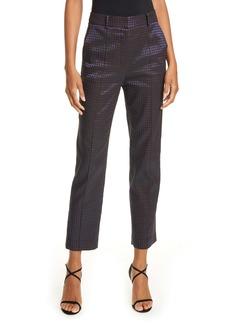 Diane Von Furstenberg DVF Linda Dot Jacquard Trousers