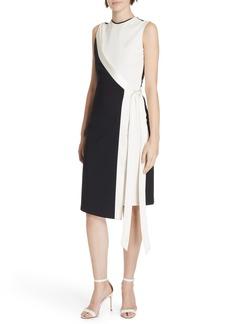 Diane Von Furstenberg DVF Lindsey Asymmetrical Faux Wrap Dress