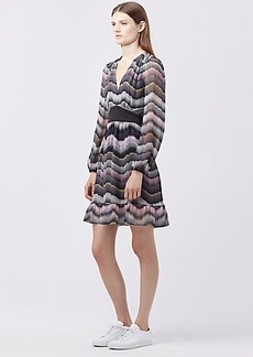DVF LIZBETH CHIFFON DRESS