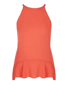 DVF Lizzy Silk Halter Top