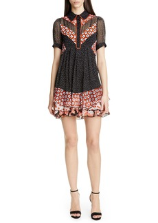 Diane Von Furstenberg DVF Lou Silk Dress