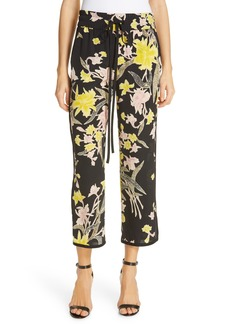 Diane Von Furstenberg DVF Lulu Silk Pants