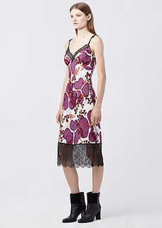 DVF MARGARIT SILK SLIP DRESS