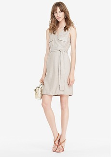 DVF Mellany Linen Wrap Dress