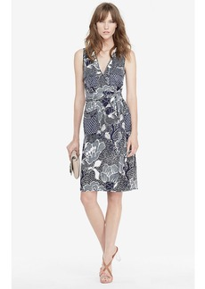 DVF Mellany Silk Jersey Wrap Dress