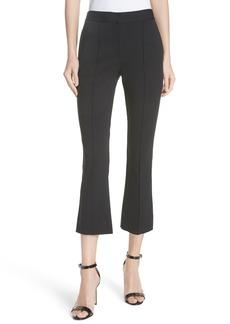 Diane Von Furstenberg DVF Midrise Crop Bootcut Pants