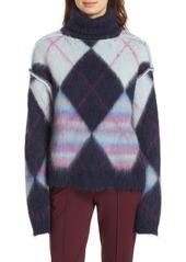 Diane von furstenberg dvf mohair  alpaca blend turtleneck sweater abv6a39cbfa a