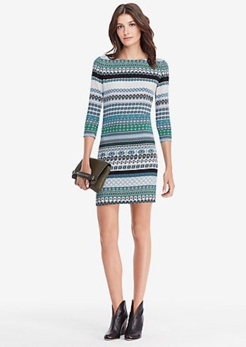 Diane Von Furstenberg DVF New Avery Shift Dress