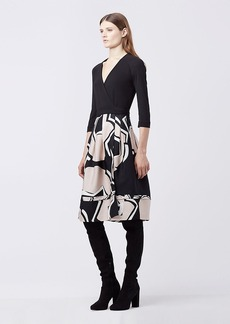 DVF New Jewel Wrap Dress