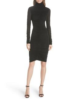 Diane Von Furstenberg DVF Olivia Ruched Body-Con Dress