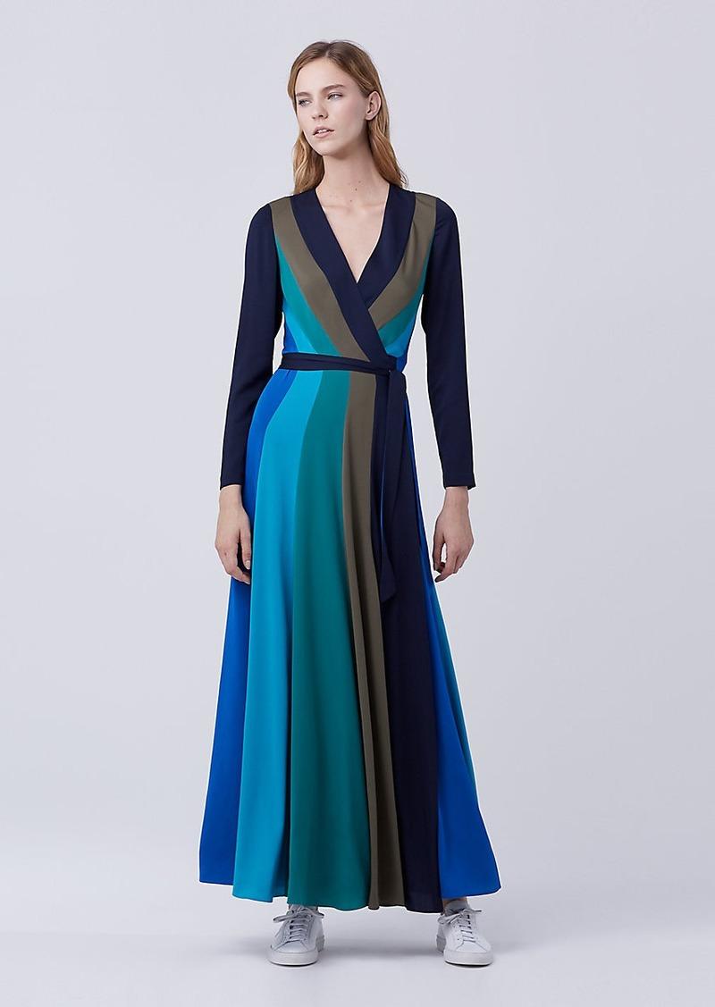 Diane Von Furstenberg DVF Penelope Maxi Wrap Dress   Dresses