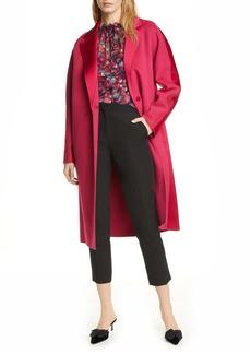 Diane Von Furstenberg DVF Perilla Long Wool Coat