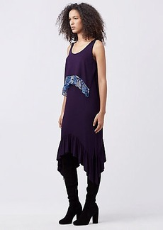 DVF PERRI JERSEY SHIFT DRESS
