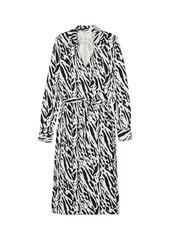 Diane Von Furstenberg Dvf Power Silk Midi Dress
