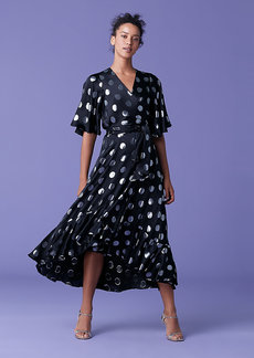 Diane Von Furstenberg Sareth Dot Wrap Dress
