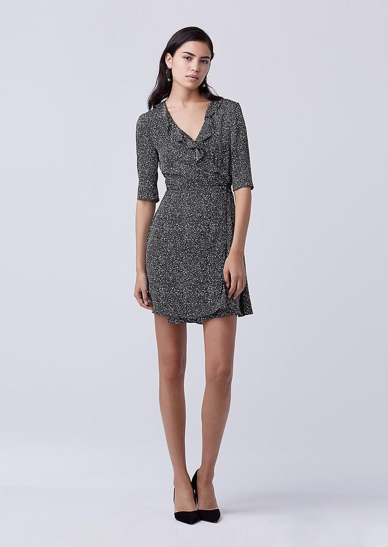 20ac3c2353dcb Diane Von Furstenberg DVF Savilla Silk Wrap Dress