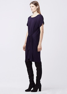 DVF SAVITA JERSEY SHIFT DRESS