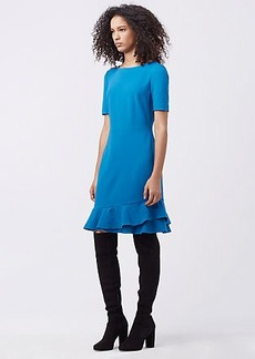 DVF SERAFINA FITTED DRESS