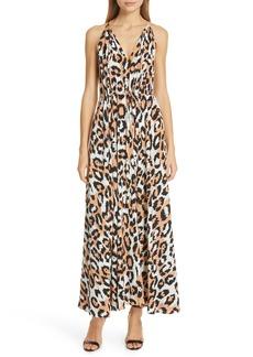 Diane Von Furstenberg DVF Sierra Silk Maxi Dress