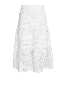 DVF Tiana Lace Skirt