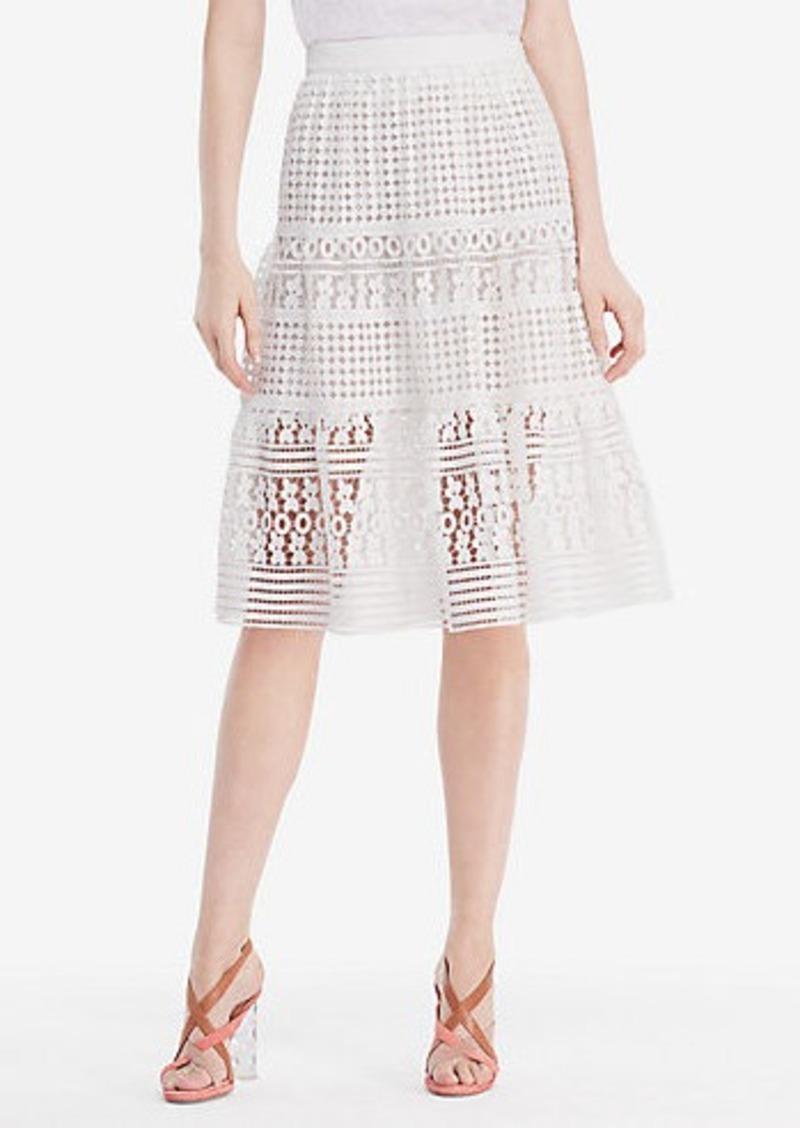 Diane Von Furstenberg DVF Tiana Lace Skirt