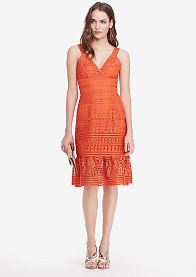 Diane Von Furstenberg DVF Tiana Lace Tank Dress