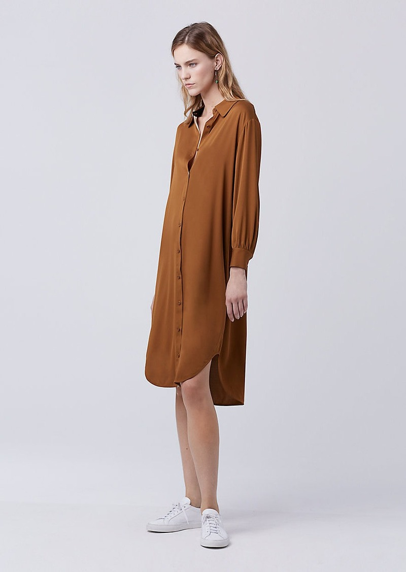 Diane Von Furstenberg DVF Tressa Shirt Dress