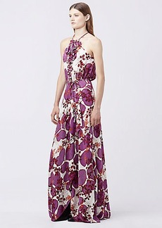 DVF VERONNICA PRINTED MAXI DRESS