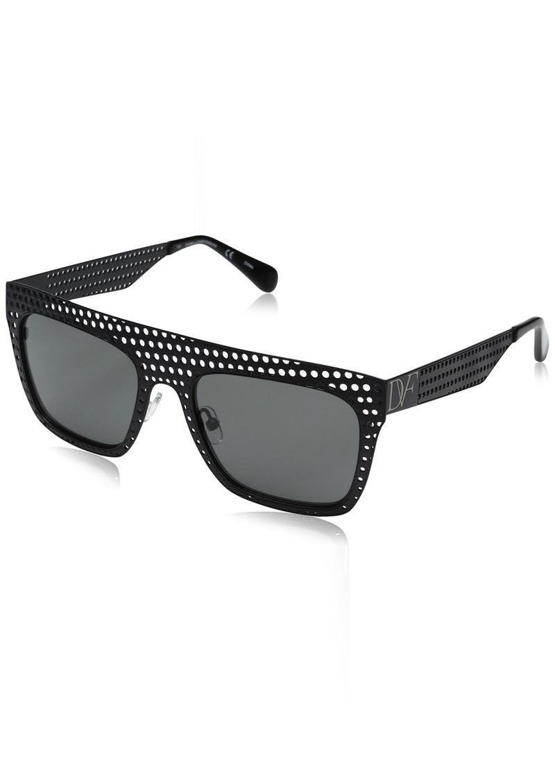 Diane Von Furstenberg DVF Women's Grace Rectangular Sunglasses