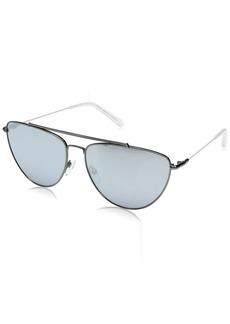 Diane Von Furstenberg DVF Women's Krista Aviator Sunglasses