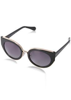 Diane Von Furstenberg DVF Women's Norah Round Sunglasses
