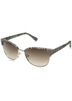 Diane Von Furstenberg DVF Women's Zianna Cat-Eye Sunglasses