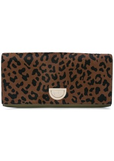 Diane Von Furstenberg East West Haircalf clutch bag