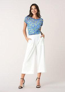 Diane Von Furstenberg Elleana Mesh Short-Sleeve T-Shirt