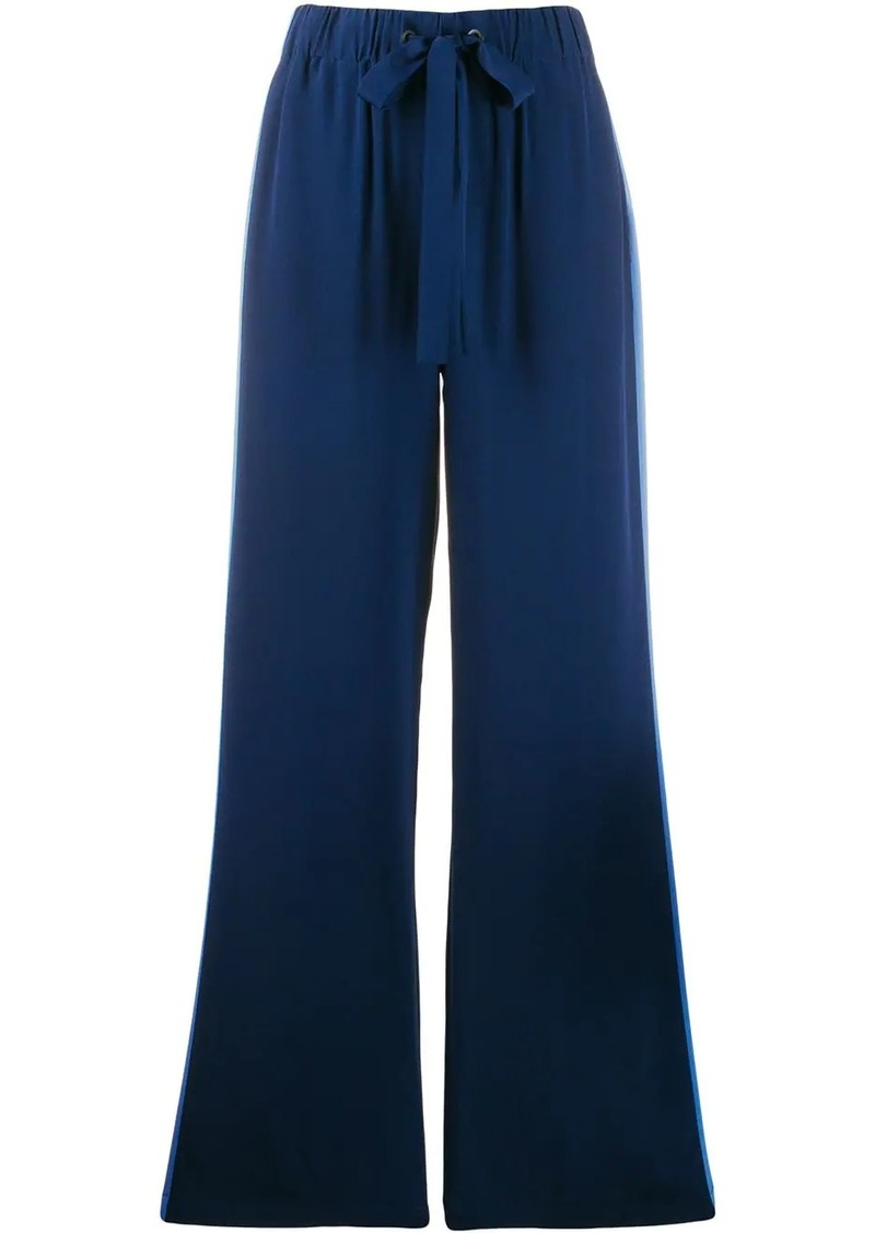 Diane Von Furstenberg Ellington crepe de chine trousers