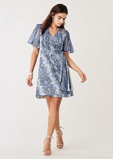 Diane Von Furstenberg Zella Silk-Jersey Mini Wrap Dress